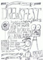 Drewsfest 2011 Advertisement by cloudmuffin727