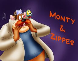 Monteray Jack and Zipper by Arielle-Kasa