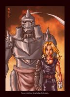FMA- The Elric Brothers by claudiakat