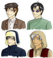 FMA - Alphonse Disguises by FerioWind