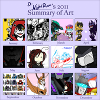 2011 Art Summary by Imber-Noctis