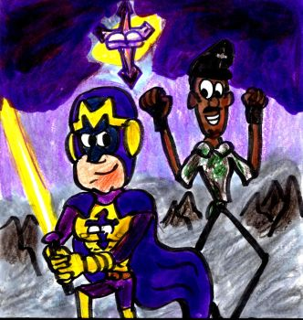 Bibleman and Coats by SonicClone