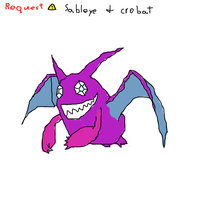 Sableye and crobat combo by enigmatic-me