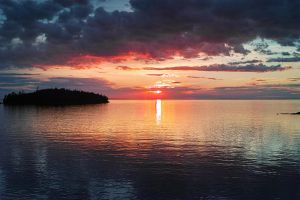 Sunset... Valaam Islands... _2_ by my-shots