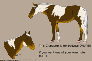 2nd design for badazal by patchesofheaven74