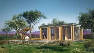 Small Prefabricated House by cetintuker