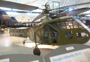 Vought-Sikorsky XR-4C Helicopter by rlkitterman