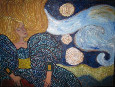 lady and the starry night 2005 by mikcals