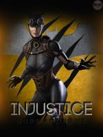 INjustice Catwoman by NHKkyo