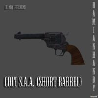 Colt S.A.A. Short Barrel by DamianHandy