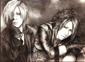 Ruki and Aoi by sweetredhoney