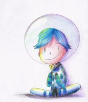 Phobic abstract painter boy by kurisquare