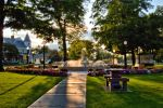 Late Afternoon in Juckett Park by funygirl38