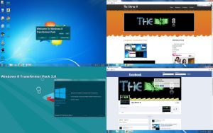 Windows 8 Transformer Pack Preview by TheDhruv