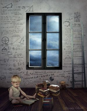 Einstein Junior (In My Room) by DomagojTaborski