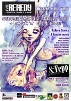 Summer Frenzy enent poster.. by neurotic-elf