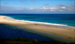 Moore River Beach by jacobjellyroll
