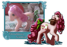 MLP Collection: #4 Strawberry Surprise by LadyRosse