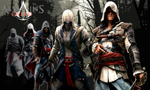 Assassin's Creed Series Wallpaper 2 by yellowcar96