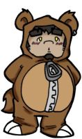 The Bear Suit is BACK by FatYogi