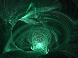 Green Flame Vortex by TexArcana1962