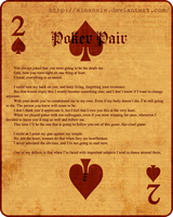 Poker Pair - Part Seven - by Sinanxis