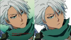 Hitsugaya Toshiro new look (paint) by FMAforever11