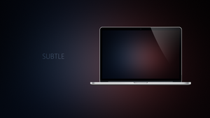 SUBTLE - Coloured Expression Wallpapers by Ecstrap