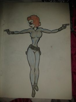 Black Widow by TheInfamousGoose