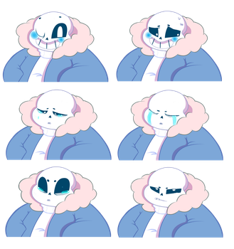 More SANSational Expressions by Sierra-G