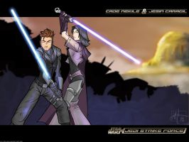 SW- JSF - Naboo Twilight by daemonracer