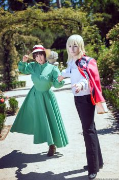 Howl's Moving Castle by KoiCos