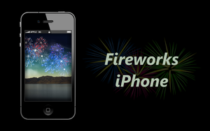 Fireworks Wallpaper for iPhone 4/4S and iPhone 5 by biggzyn80