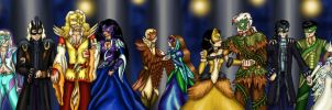 Masquerade 2011 All together by dragondoodle