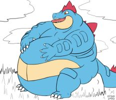 QwikOne - Feraligatr by DragonDoctor