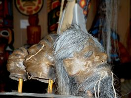 Shrunken heads 2 by JensStockCollection