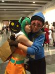 Anime Boston 2014 - VY2 YUMA x Gumi by TimberWulfe