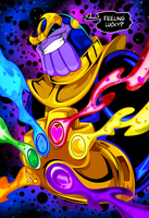 Thanos by kudoze