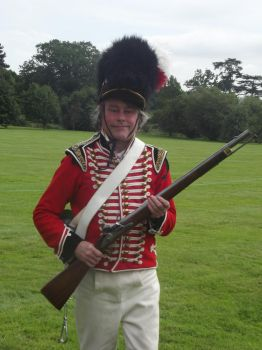 Redcoat with a Calvary Carbine by clonehero1