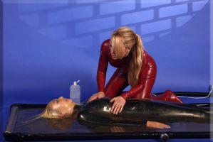 Vacbed6 by catsuitmodel