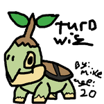 /vp/ MS Paint Pokemon Challenge: Turtwig by monketron