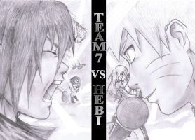 team7 vs hebi by foxi14