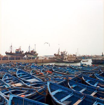 morocco boats by M0rt