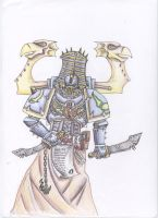 Thousand Sons Sorcerer by Lord-Danaelus