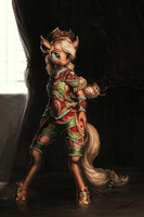 Applejack Exalted by AssasinMonkey