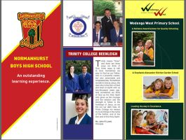 3x Pull-Up banners for schools by Cixxy
