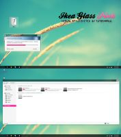 Ikea Glass Pink Theme w7 by TutosVaalu