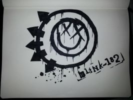 Blink-182 by tangypineapple