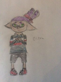 Ostra, the Timid Hero by Pidgey64
