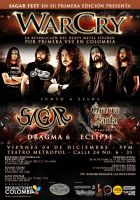 Poster WarCry en Colombia by bergslay